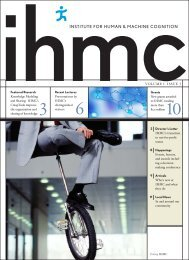Volume 1 Issue 3 - Institute for Human and Machine Cognition