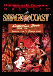 Book Three: Adventures on the Savage Coast - Vaults of Pandius