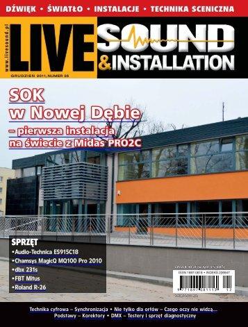 Live Sound & Installation - UlubionyKiosk
