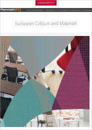 European Colours and Materials - flemishIN