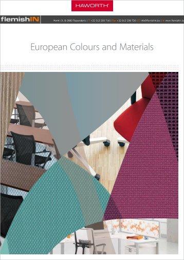 European Colours and Materials - flemishIN