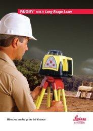 100LR Long Range Laser - Leica Geosystems