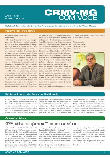 Out/2010 - CRMV-MG
