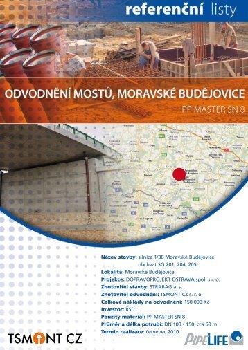 Odvodnění mostů v Moravských Budějovicích - Pipelife Czech s.r.o.