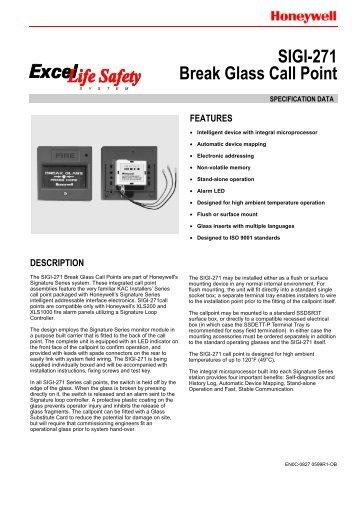 0827- SIGI-271 Break Glass Call Point - Netwell
