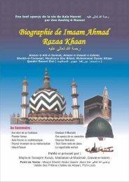 Biographie de Imaam Ahmad Razaa Khaan - Dawat-e-Islami