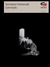 Serrature Universali Cam locks - ASSA ABLOY