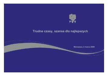 Prezentacja wyników IV kwartał 2008 - Pelion.eu
