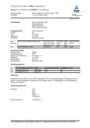 GUTACHTEN zur ABE Nr. 46886 nach §22 StVZO Anlage 3 zum ...