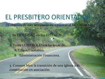 El Presbitero Orientador - Gabriel Zelaya