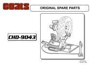 Coats CHD-9043 HD Tire Changer - NY Tech Supply