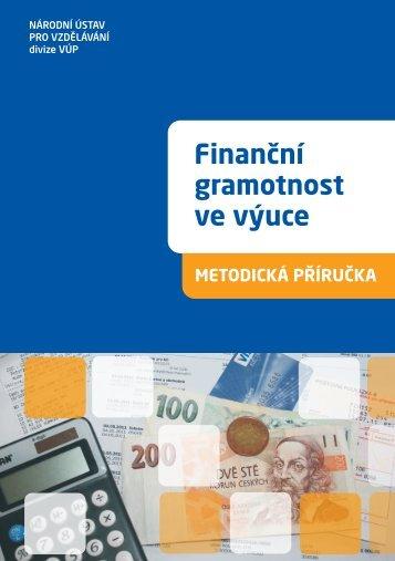 Finanční gramotnost ve výuce - Výzkumný ústav pedagogický v Praze