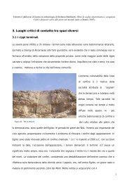 punti critici di contatto tra spazi diversi - Margine, Soglia, Confine ...
