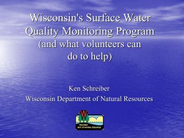 (What Volunteers can do to Help) (5 MB pdf) - Wisconsin's Citizen ...