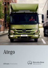 Atego Overview Brochure - Mercedes-Benz