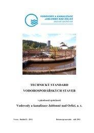 TS VH staveb 01 - Vodovody a kanalizace Jablonné nad Orlicí as