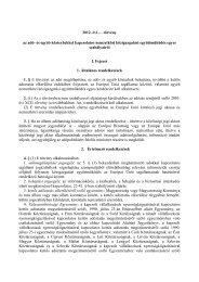 2012. évi … törvény az adó- és egyéb közterhekkel kapcsolatos ...