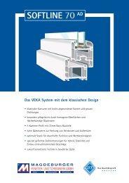 Das VEKA System mit dem klassischen Design - Magdeburger Fenster