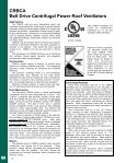 Centrifugal Power Roof Ventilators - American Coolair - Page 4