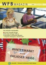 WFB Magazin 2009/2 - Lebenshilfe-Solingen