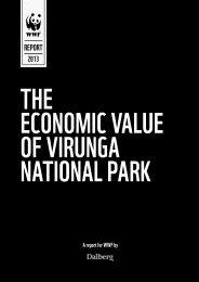 The Economic Value of Virunga National Park - World Wildlife Fund