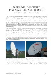 24 ghz eme - conquered 47 ghz eme – the next frontier - home.kpn.nl