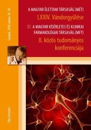 lXXiV. Vándorgyűlése ii. közös tudományos konferenciája - Magyar ...