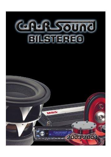 Sound - CARSound Bilstereo