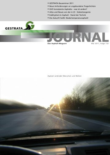 Gestrata Journal Ausgabe 132 (Mai 2011)