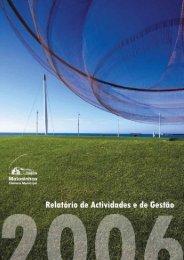 Relatório de Atividades e de Gestão 2006 - Câmara Municipal de ...