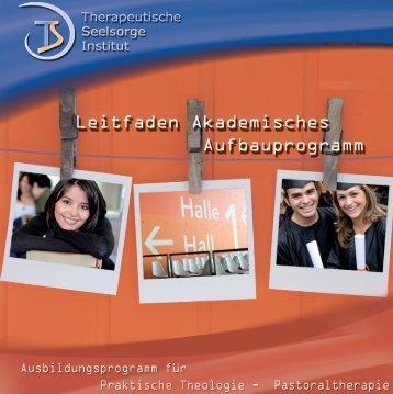 Leitfaden Akademisches Aufbauprogramm - Stiftung Therapeutische ...