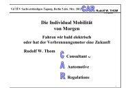 Vd TÜV Sachverständigen Tagung, Berlin 5.&6. Mrz. 2012 Rudolf W ...
