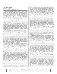 Ten Little Indians.qxd - The Bloomsbury Review