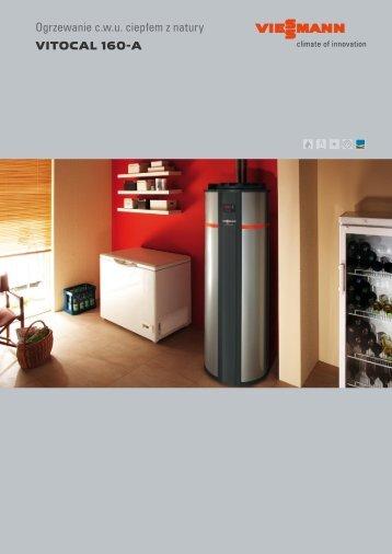 Ogrzewanie c.w.u. ciepłem z natury VITOCAL 160-A - Viessmann