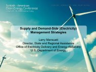 Supply and Demand-Side (Electricity) Management Strategies