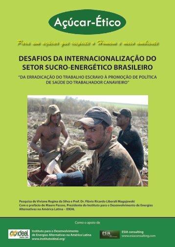 desafios da internacionalização do setor sucro ... - Sucre Ethique