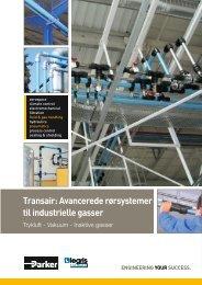 Transair: Avancerede rørsystemer til industrielle gasser