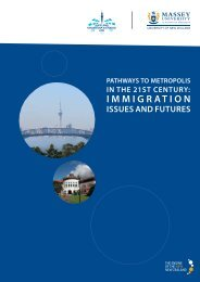 Pathways to Metropolis in the 21st Century: Immigration Issues and ...