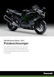 ZZR1400 Special Edition / 2013 Pulsbeschleuniger - 2-Rad Wehrli