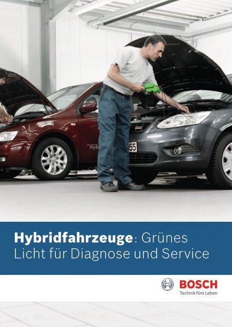 Hybridfahrzeuge: Grünes Licht für Diagnose und Service