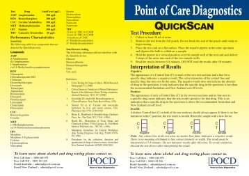 QuickScan_package-in.. - Point of Care Diagnostics