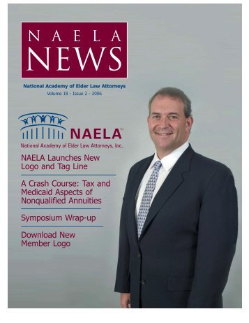 NAELA News - National Academy of Elder Law Attorneys