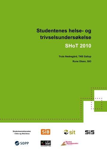 Studentenes helse - Studentsamskipnaden i Stavanger ...