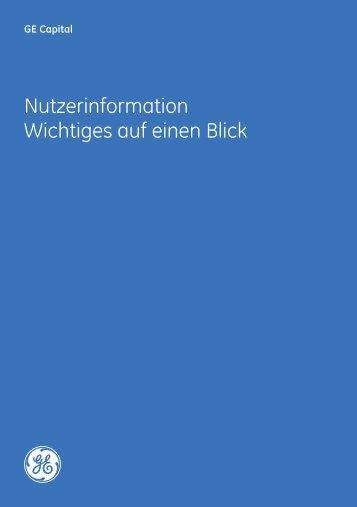 T 0820 600 150 - GE Capital Deutschland