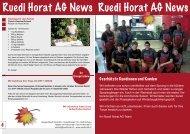 NEWS Oktober 2009 - Ruedi Horat AG