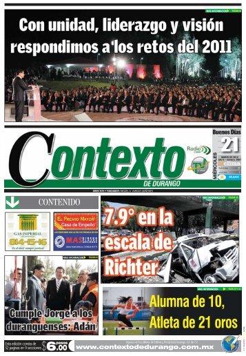 PORTADA nva.qxd (Page 1) - Contexto de Durango