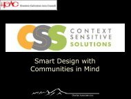 Smart Design with Communities in Mind