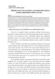 PRIEDE (PINUS SYLVESTRIS L.) KĀ PIEZEMES ... - DU conference