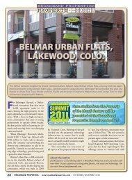 belmar urban flats, lakewood, colo. - Broadband Properties