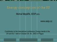 Prezentace aplikace PowerPoint - EEIP, as